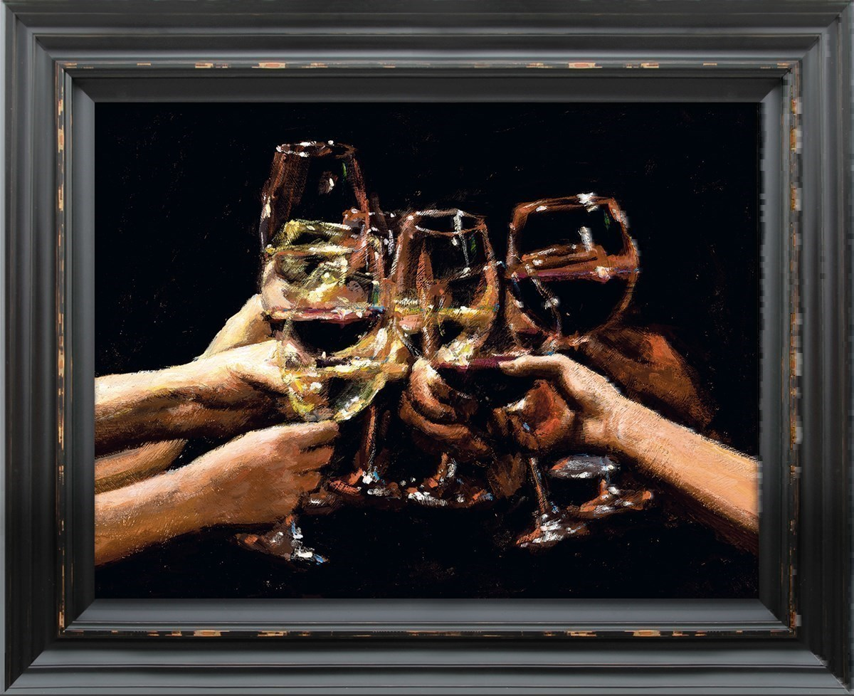 For a Better Life IX by Fabian Perez - Embelished Canvas on Board sized 16x12 inches. Available from Whitewall Galleries